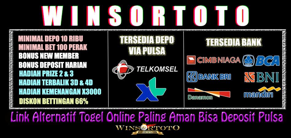 Bandar Togel Terbesar Di Indonesia Bank Online 24 Jam Winsortoto Merupakan Bandar Togel Terbesar Di Indonesia Yang Memberikan Layanan Deposit 24 Jam Penuh Untuk Semua Bank Dan Deposit Pulsa